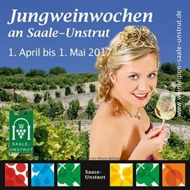 Veranstaltungshinweis - Jungweinwochen Saale-Unstrut vom 01.04.-01.05.2017