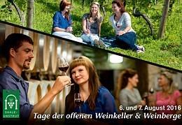 Tage der Offenen Weinkeller - am 06. und 07. August 2016