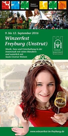 Veranstaltungshinweis - Winzerfest Freyburg 09.-12.09.2016
