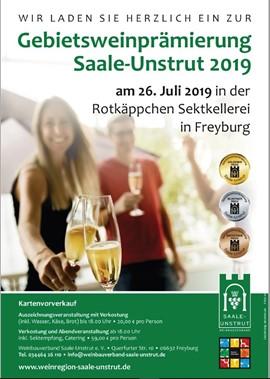 Gebietsweinprämierung 2019 -